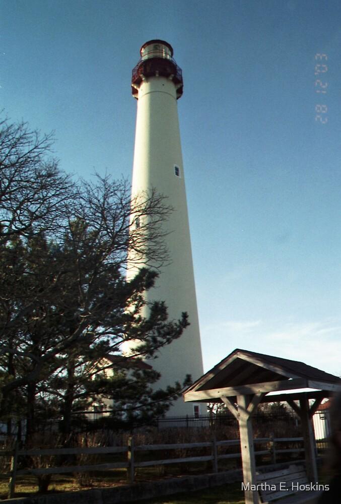 Cape May Lighthouse by Martha E. Hoskins
