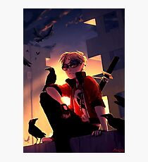Dave Strider Roof Photographic Print