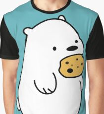Ice Bear Cookies Graphic T-Shirt