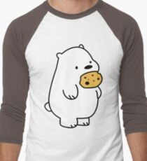 Ice Bear Cookies Men's Baseball ¾ T-Shirt