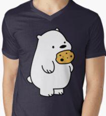 Ice Bear Cookies Men's V-Neck T-Shirt