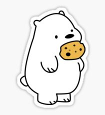 Ice Bear Cookies Sticker