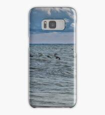 Cormorants Over Lake Erie Samsung Galaxy Case/Skin