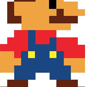 SUPER MARIO 8 BIT by REALROSS