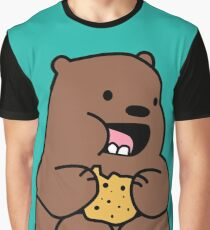 Grizzly Bears Cookies Graphic T-Shirt