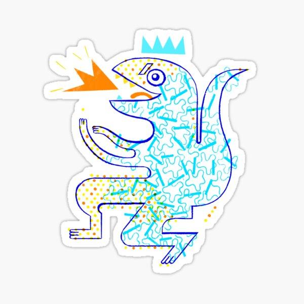Dinosaurio Arrrrr! Pegatina