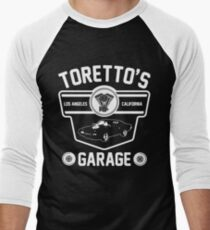 Toretto's Garage Men's Baseball ¾ T-Shirt