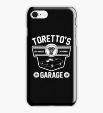 Toretto's Garage iPhone Case/Skin