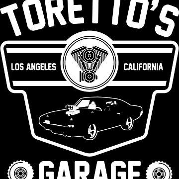Toretto's Garage by LightningDes