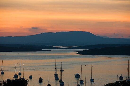 Golden Irish Sunset by Orla Flanagan