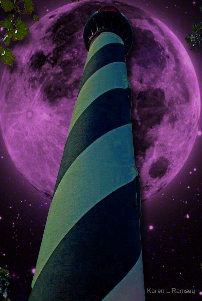 By the Light of the Moon & a Lighthouse by Karen L Ramsey