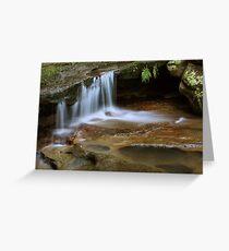 Tranquil Creek Greeting Card