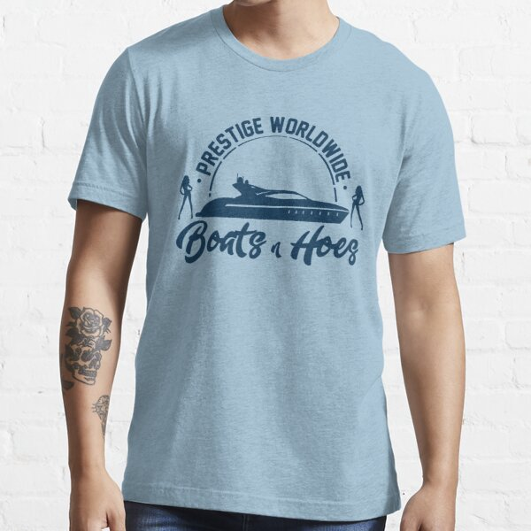 Prestige Worldwide Boats and Hoes Essential T-Shirt