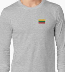 Lithuania Flag Products Long Sleeve T-Shirt