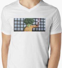 Broccolee Men's V-Neck T-Shirt