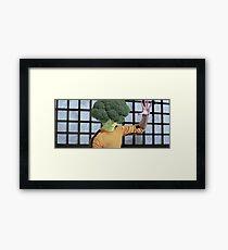 Broccolee Framed Print