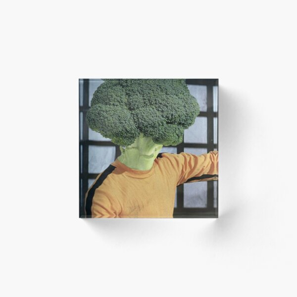 Broccolee Acrylic Block