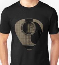 Acoustic Guitar Plectrum Unisex T-Shirt