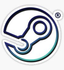 Steam logo Sticker