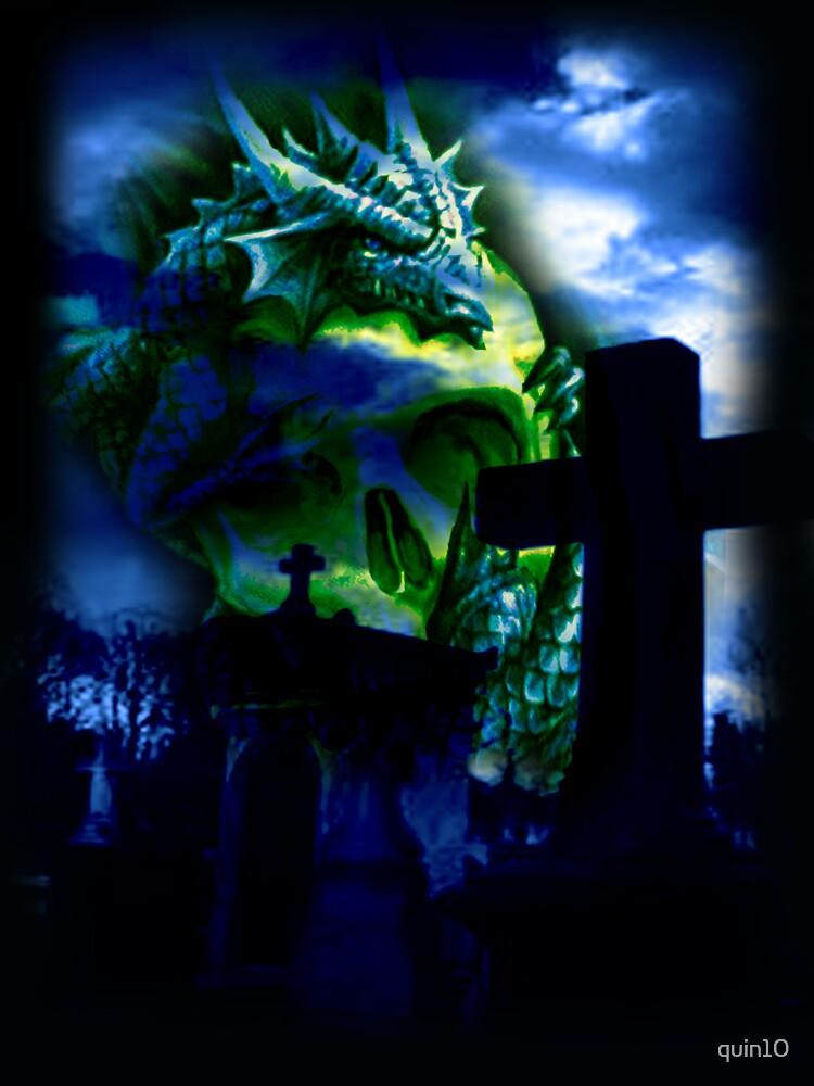 Dragon Skull by quin10