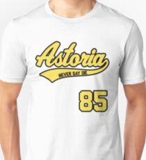 Astoria Never Say Die Jersey Unisex T-Shirt