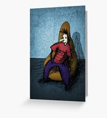 Sitter Greeting Card