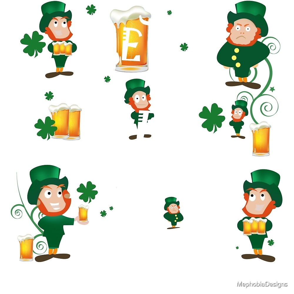 Happy St Patrick's Day by MephobiaDesigns