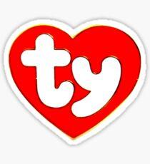 TY Sticker