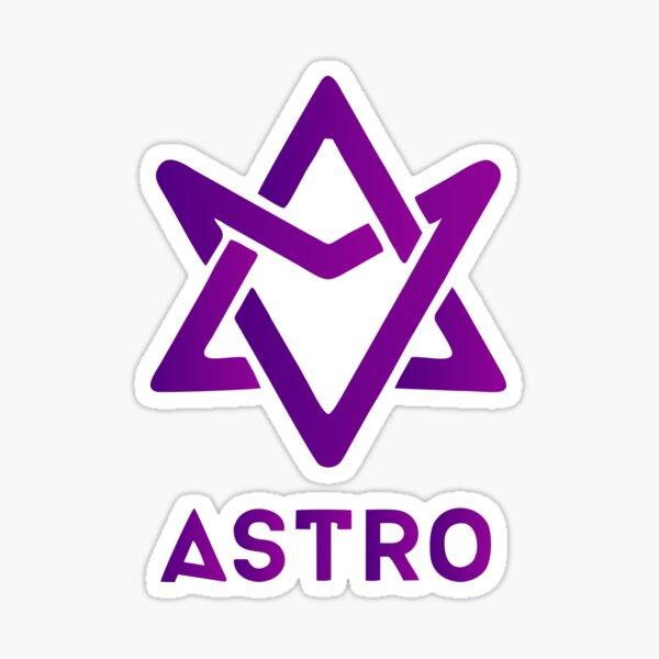 ASTRO Vivid Plum Space Violet Pegatina