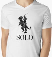 SOLO by Tai's Tees Men's V-Neck T-Shirt