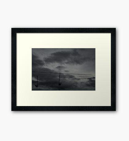 Post-war v.5 Framed Print