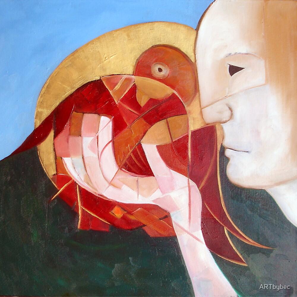 "ART by bec ""The Bird"" by ARTbybec"