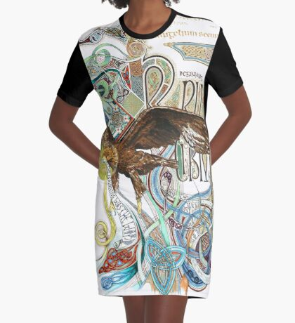 The Beginning Graphic T-Shirt Dress