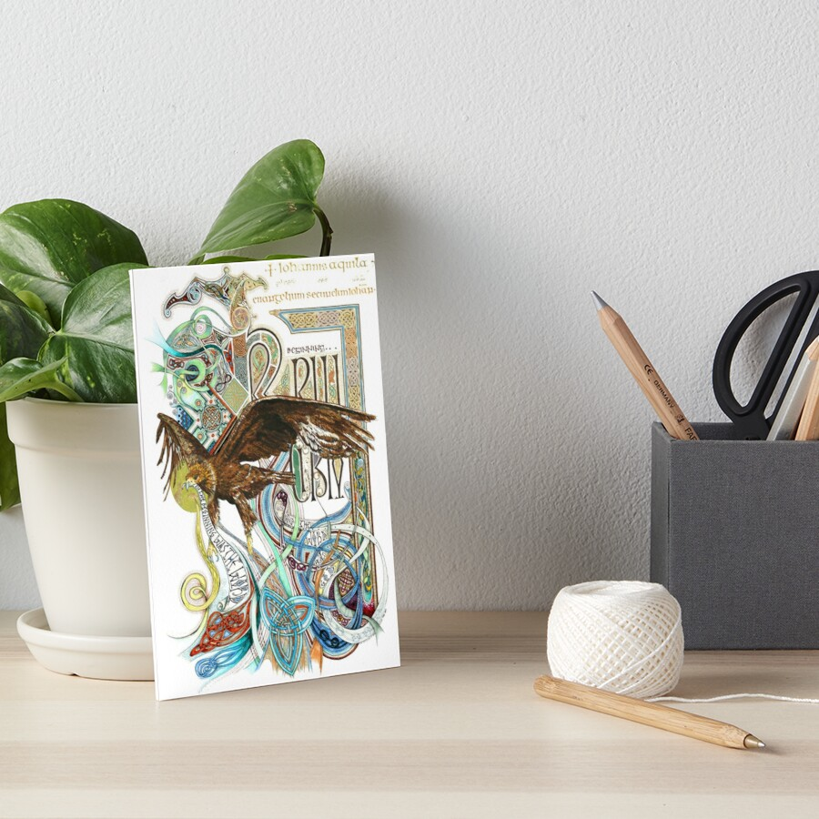 The Beginning Art Board Print