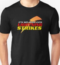 Lightning Strikes (with Bolt) - Cars 3 Unisex T-Shirt