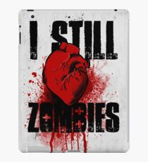 I Still (Heart) Zombies iPad Case/Skin