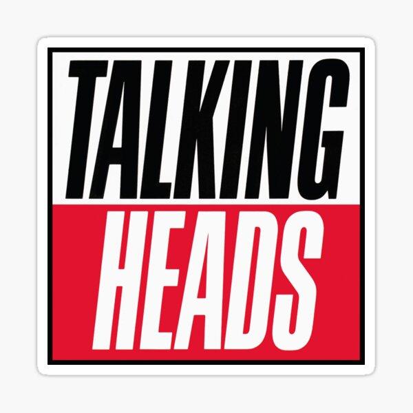 Talking Headsss Sticker