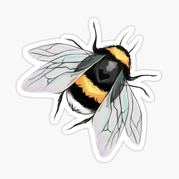 Briar Rose Bee Sticker