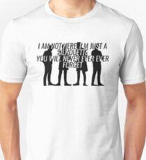 Kasabian Silhouette Unisex T-Shirt