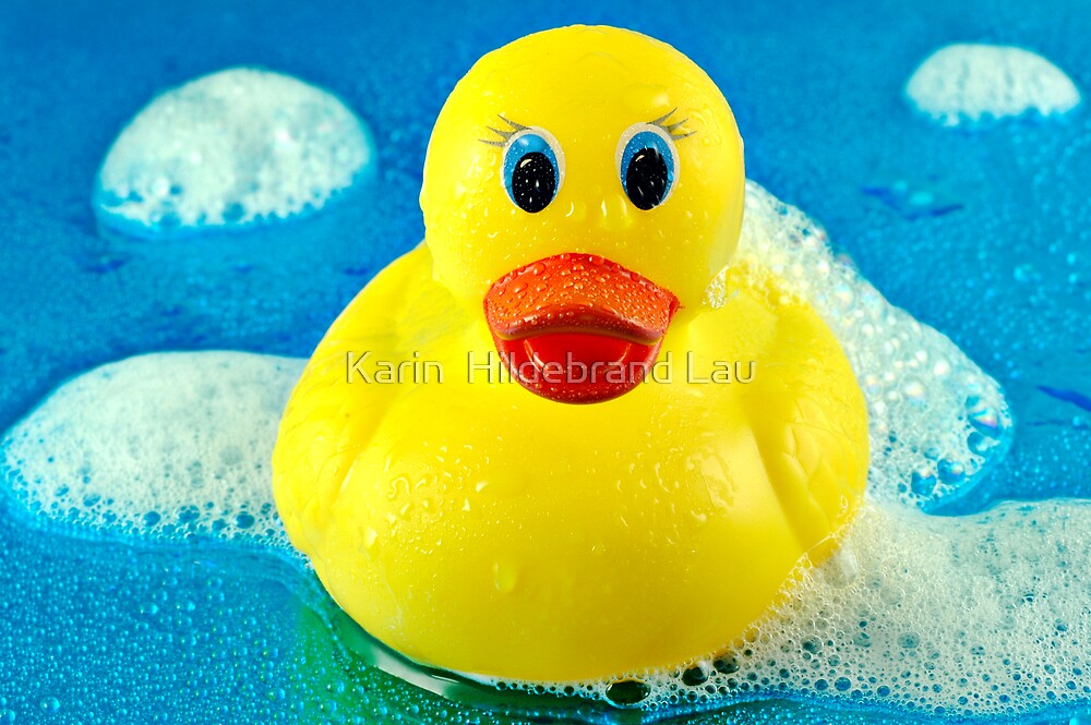 Bubble Duck by Karin  Hildebrand Lau
