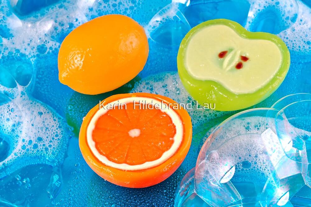 Fruit Soaps by Karin  Hildebrand Lau