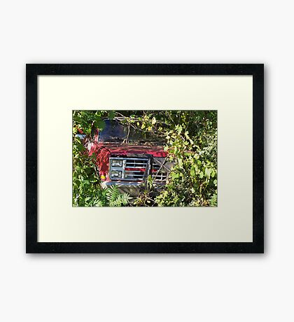 Making An Exit Framed Print
