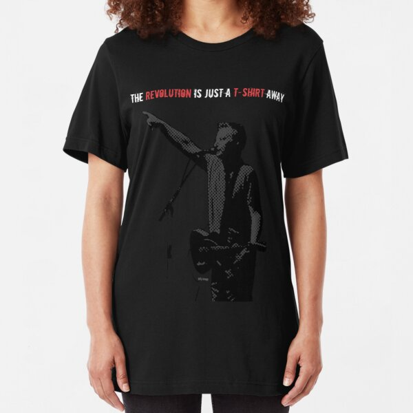 The revolution is just a t-shirt away Slim Fit T-Shirt