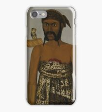 Five Javanese Court Officials, 1820 2 iPhone Case/Skin