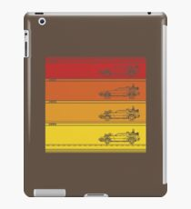 Retro Back To The Future iPad Case/Skin