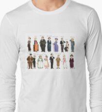Downton A. Portraits T-shirt manches longues