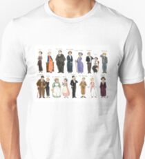 Downton Abbey portraits T-Shirt