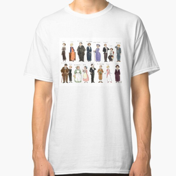 Downton A. Portraits Classic T-Shirt
