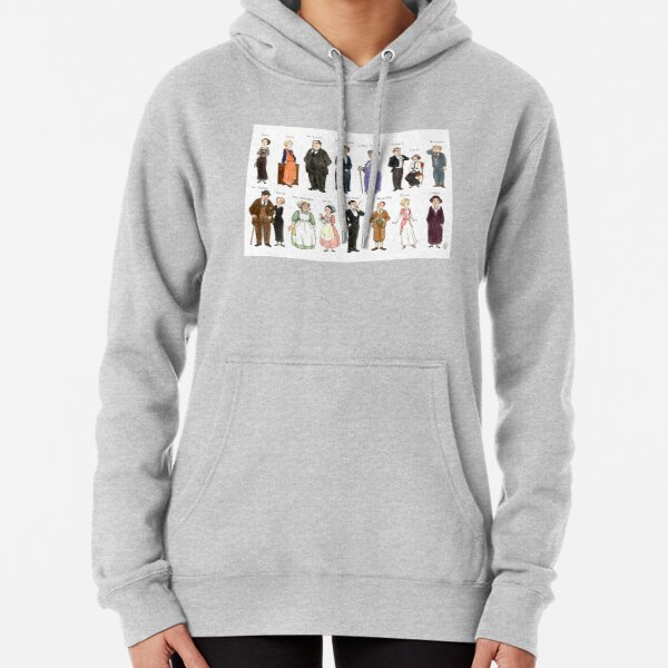 Downton A. Portraits Pullover Hoodie