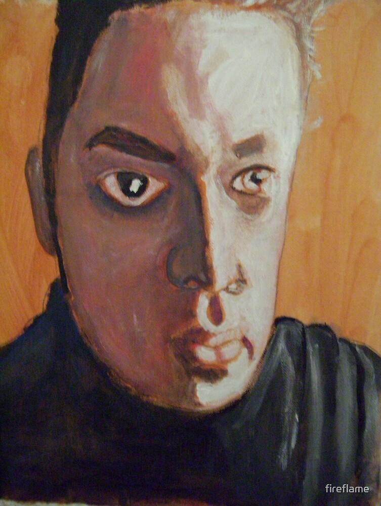Self Portrait by fireflame